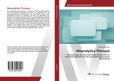 Capa do livro de Meanalytica Therapie