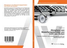 Buchcover von Akzeptanz von Bewertungsportalen aus Sicht von Ärzten