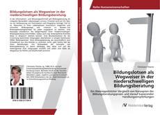 Bookcover of Bildungslotsen als Wegweiser in der niederschwelligen Bildungsberatung