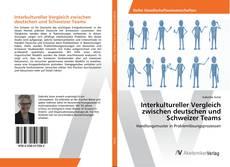 Buchcover von Interkultureller Vergleich zwischen deutschen und Schweizer Teams