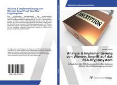 Bookcover of Analyse & Implementierung von Wieners Angriff auf das RSA-Kryptosystem