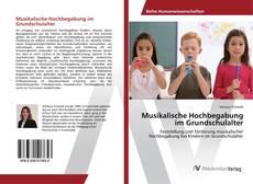 Buchcover von Musikalische Hochbegabung im Grundschulalter