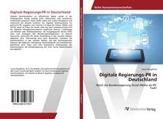 Bookcover of Digitale Regierungs-PR in Deutschland