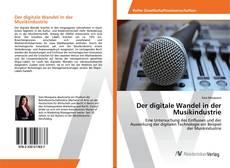 Copertina di Der digitale Wandel in der Musikindustrie