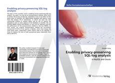 Couverture de Enabling privacy-preserving SQL-log analysis
