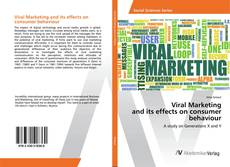 Buchcover von Viral Marketing and its effects on consumer behaviour