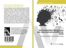 Обложка Instrumentales Musizieren aus neurowissenschaftlicher Sicht