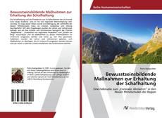 Portada del libro de Bewusstseinsbildende Maßnahmen zur Erhaltung der Schafhaltung