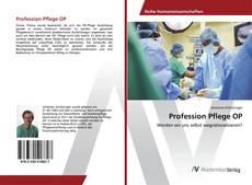 Buchcover von Profession Pflege OP