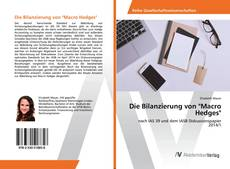 """Copertina di Die Bilanzierung von """"Macro Hedges"""""""