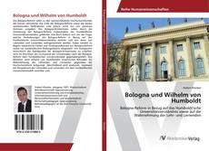 Copertina di Bologna und Wilhelm von Humboldt