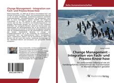 Portada del libro de Change Management - Integration von Fach- und Prozess-Know-how