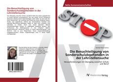 Buchcover von Die Benachteiligung von Sonderschulabgehenden in der Lehrstellensuche