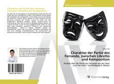 Charakter der Partie des Ferrando, zwischen Libretto und Komposition kitap kapağı