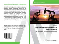 Unconventional Reservoir Completions kitap kapağı