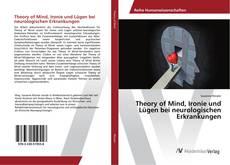 Capa do livro de Theory of Mind, Ironie und Lügen bei neurologischen Erkrankungen