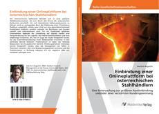 Buchcover von Einbindung einer Onlineplattform bei österreichischen Stahlhändlern