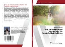 Bookcover of Tanz als elementarer Baustein in der Persönlichkeitsbildung