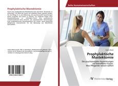 Borítókép a  Prophylaktische Mastektomie - hoz