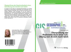 Обложка Überprüfung der Realisierbarkeit einer GIS-Übung von ArcGIS nach QGIS