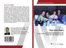 Capa do livro de Neo Late Night