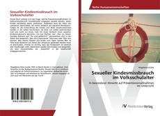 Bookcover of Sexueller Kindesmissbrauch im Volksschulalter