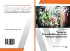 Buchcover von Fördern der Gesundheitskompetenzen