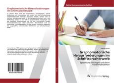 Capa do livro de Graphomotorische Herausforderungen im Schriftspracherwerb