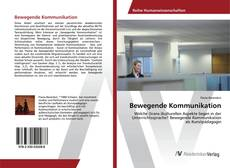 Bewegende Kommunikation的封面