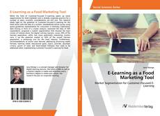 Capa do livro de E-Learning as a Food Marketing Tool