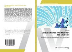 Capa do livro de Vorgeschichte und Frühzeit des Musicals