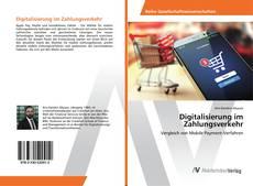 Bookcover of Digitalisierung im Zahlungsverkehr