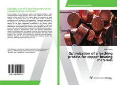 Optimization of a leaching process for copper-bearing materials kitap kapağı
