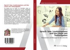 Обложка Sprach- bzw. Lesekompetenz und das Lösen von Textaufgaben