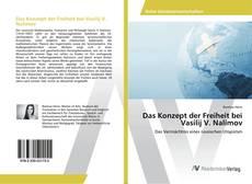 Portada del libro de Das Konzept der Freiheit bei Vasilij V. Nalimov
