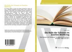 Capa do livro de Die Rolle der Schweiz im Zweiten Weltkrieg
