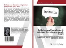 Buchcover von Teilhabe von Menschen mit geistiger Behinderung durch Sport