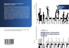 Обложка Bilingualism: Disruptive Practices in Mainstream Schools