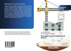 Capa do livro de Retempering of Concrete and Mortar