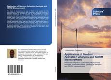 Buchcover von Application of Neutron Activation Analysis and NORM Measurement