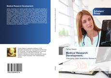 Bookcover of Medical Research Development: