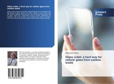 Bookcover of Glass cullet: a hard way for cellular glass from useless waste