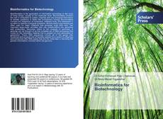Bookcover of Bioinformatics for Biotechnology