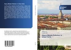 Buchcover von Heavy Metals Pollution in Urban Soils