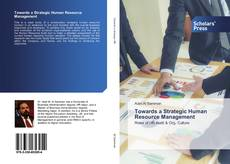 Bookcover of Towards a Strategic Human Resource Management