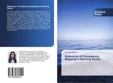 Bookcover of Relevance of Competency Mapping in Banking Sector