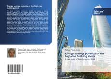 Bookcover of Energy savings potential of the high-rise building stock