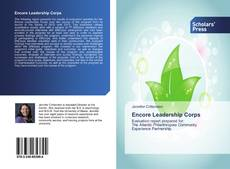 Bookcover of Encore Leadership Corps