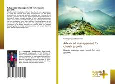 Обложка Advanced management for church growth