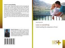 Buchcover von Love is everything